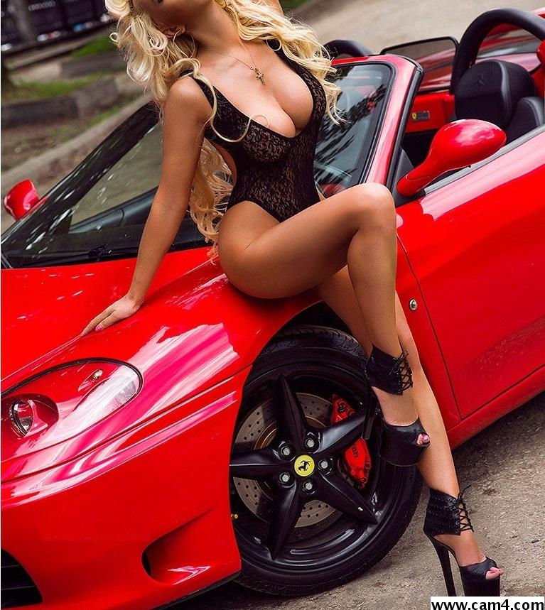 Super sexy cars girls in one place