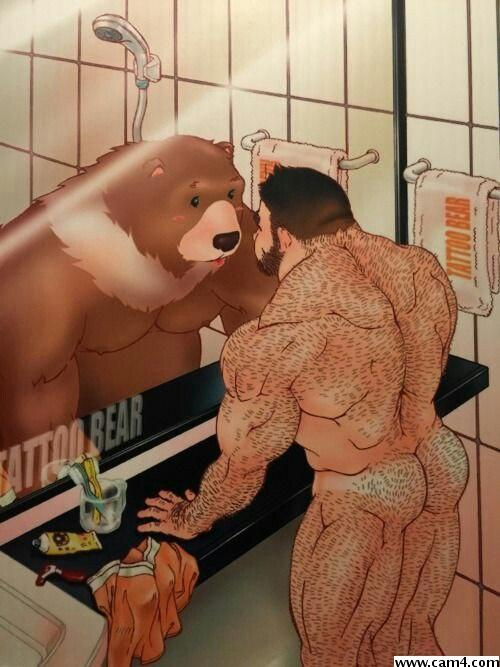 Bear erotic art
