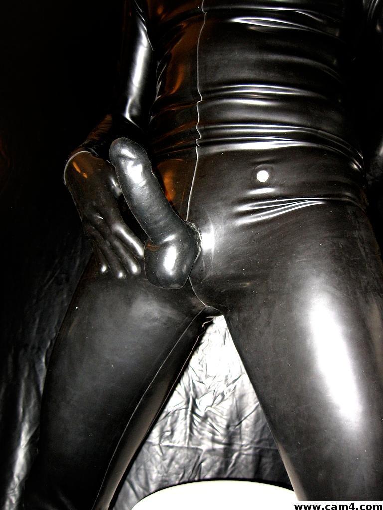Hot leather lingerie pics