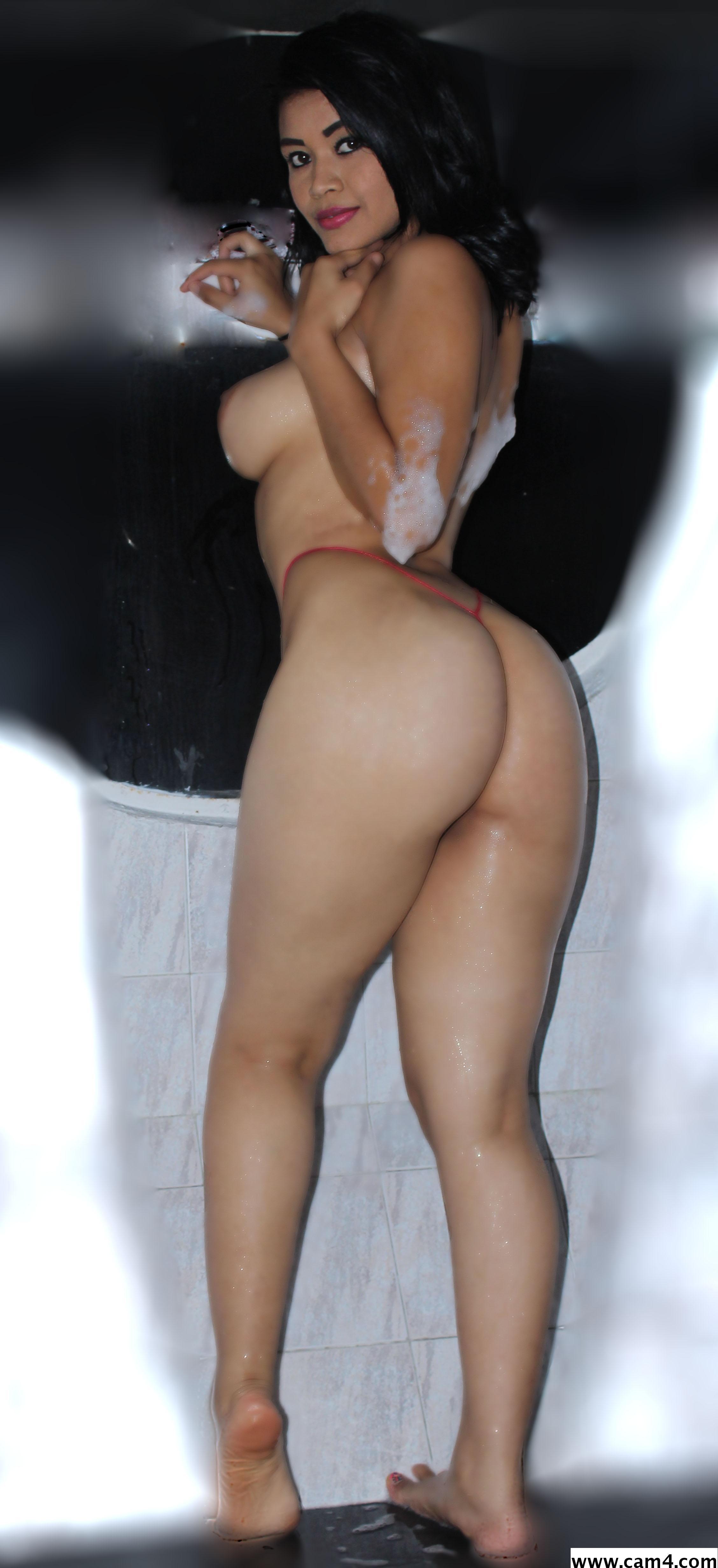 Sheer panty milf pink thong