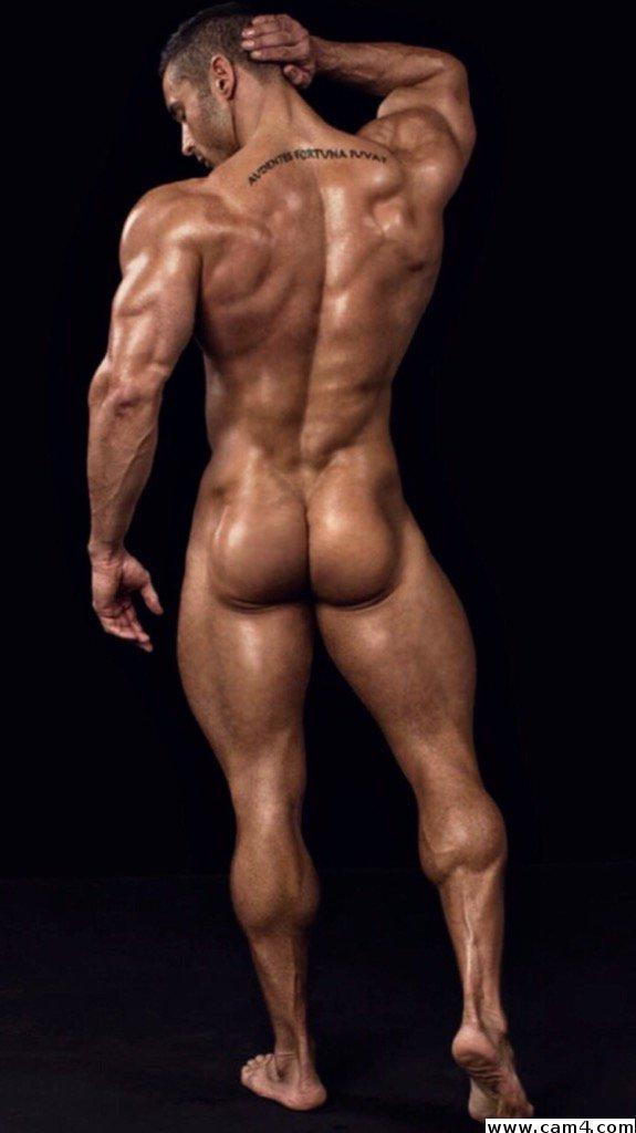 Bare great his hot leg man man mr muscular sexy